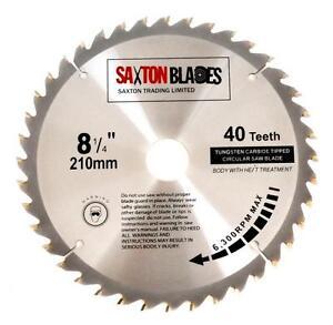 216mm x 30mm TCT Tungsten Carbide Tipped Circular Saw Blades 48 Teeth