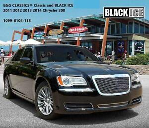 CHRYSLER 300C 2011-2014 E&G Classics Black Ice Mesh Grille