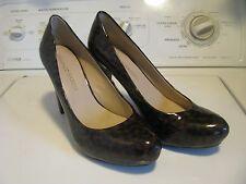 "Franco Sarto Leopard Print Stiletto 4"" High Heel Women Size 9 M"