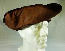 NEW BROWN PIRATE HAT JACK SPARROW FANCY DRESS