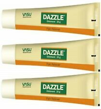Vasu Healthcare Dazzle Ointment Topical Pain Reliever Each 25g (Pack of 3 Pcs)