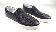 $200 size 40 US 9 Ash Impuls Black Genuine Leather Sneakers Slip On Womens shoes