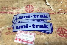 Kawasaki KX KDX KMX 125 250 KDX175 Uni-Trak Swing Arm Sticker Decals NOS