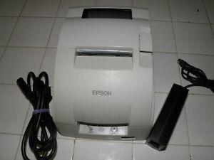 Epson TM-U220B USB / RJ45 POS Receipt Printer  M188B w power supply