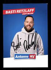 Basti Retzlaff Autogrammkarte Original Signiert # BC 110140