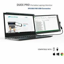 Mobile Pixels DUEX Pro Dual-Screen Attachable Laptop Monitor, 12.5 Inch