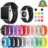 Soft Sports Silicone iWatch Band 38/40mm,42/44mm Strap For Apple Watch 6/5/4/3/2