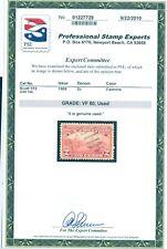 US 372 Hudson-Fulton, used, graded PSE Certificate