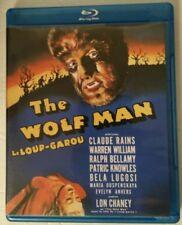 The Wolf Man (Blu-ray Disc, 2013, Canadian) Lon Chaney JR, Claud Rains