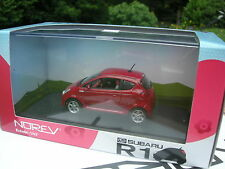NOREV 1/43 METAL SUBARU R1 ROUGE RED !!!