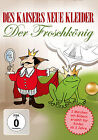 Kinder DVD Des Empereur e Vêtements und Der Roi grenouille Animé Livre d'images