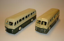 2x MECCANO DINKY TOYS Duple Roadmaster Leyland Royal Tiger Coach 29h Bus Omnibus