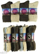 12 Pairs Of Ladies Walking Socks, Cotton Rich Hiking Trail Boot Socks, 4-7
