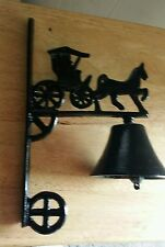 Vintage Cast Iron Welcome Bell