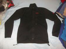 Mammut Gore-tex Windstopper Softshell Jacket Coat Sweater Black Torso Flow Zips