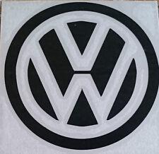 dub VW volkswagen logo car campervan golf beetle adhesive sticker decal 110MM