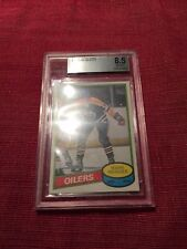 Mark Messier 1980-81 O-Pee-Chee #289 BVG 8.5 Rookie card