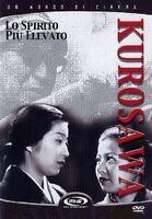 Lo Spirito Più Elevato (1944) DVD Nuovo Sigillato Akira Kurosawa N