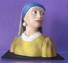 Johannes Vermeer GIRL WITH THE PEARL EARRING Sculpture Art Figure Statue