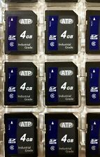 ATP 4GB SD Industrial Secure Digital Memory Card AF4GSDI SDHC (Lot of 12)