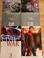 Marvel Comics Civil War Lot #2, #3 + Front Line