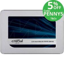 Crucial Solid State Drives 2TB Storage Capacity