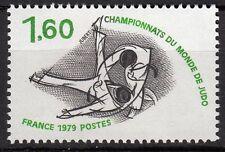 FRANCE TIMBRE NEUF  N° 2069 **  CHAMPIONNATS DU MONDE DE JUDO