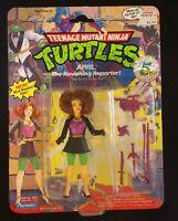 1992 TMNT Teenage Mutant Ninja Turtle April the Ravishing Reporter Action Figure