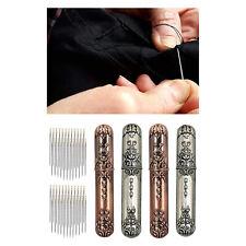 Retro Nähen Nadel Fall Hand Handwerk Selbst Threading Nadeln Werkzeug