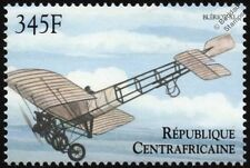 Louis BLERIOT XI (Channel Crossing) Aircraft Stamp (2000 Central African Rep)