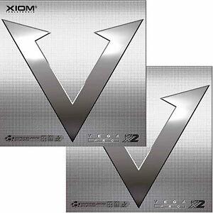 Xiom Vega Pro / DOPPELPACK / Tischtennisbelag / zum Sonderpreis