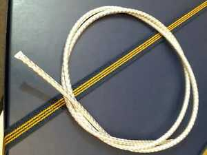 Braided 925 Sterling Silver Chain wire, 4 mm  Jewellery 10 cm to 1 meter