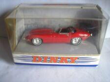 """MATCHBOX-DINKY DY-18 1968 JAGUAR """"E"""" TYPE Mk 1 1/2 RED IN ORIGINAL BOX MIB"""