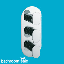Track Bathroom Finish Set for Vertical Shower / Bath Valve | RRP: £419