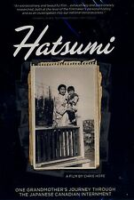 NEW  DVD // HATSUMI // JAPANESE INTERNMENT DOCUMENTARY //