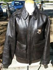 AVIREX Leather Jacket LA WEEKLY 20th Anniversary 1998 Type A-2 US Army Air Force