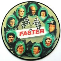 """MINT! GEORGE HARRISON FASTER 7"""" VINYL PICTURE DISC THE BEATLES"""