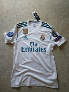 Luka Modric 17/18 Real Madrid UCL Home Jersey