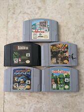 Nintendo 64 N64 Game Lot 5 Rainbow Six Quake South Park