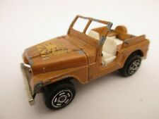 MAJORETTE Jeep N°268 Golden Eagle 1/54 - Made in France