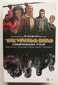 The Walking Dead Compendium Vol. 4 Robert Kirkman Image Graphic Novel Comic Book