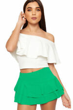 Gonne e minigonne da donna alti verde
