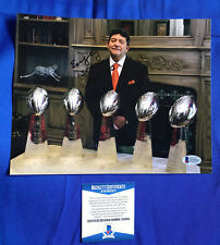 Eddie DeBartolo Signed 8x10 Photo San Francisco 49ers SF HOF Super Bowl Dynasty