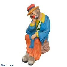 New ListingVintage Emmett Kelly Jr. Ceramic Clown Figurine Prince Of Pantomine From Flambro