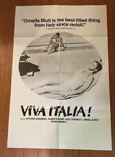 Vintage Viva Italia Movie Poster Folded