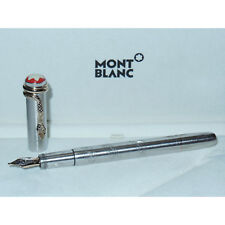 New Montblanc Rouge et Noir Solitaire 1906 Fountain Pen M 18K Gold Nib 116554