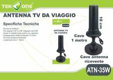 Antenna Digitale Terrestre TeKone Atn-35w TV HDTV Amplificata 36dBi DvB-T hsb