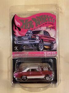 Hot Wheels RLC 2021 Exclusive '66 Chevy Super Nova In Hand