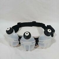 Fuel Belt 3 Water Bottles Running 7 Oz x 3 One Size Black Triathlon Hydration