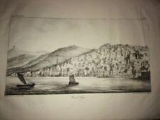 ALGÉRIE. VUE D'ALGERLithographie de 1830